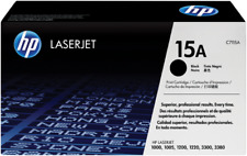 HP 15A Black Toner Cartridge - C7115A