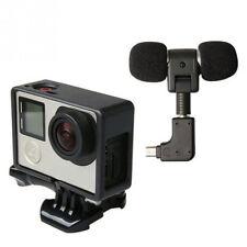 Kit microfono esterno alta qualità+cover custodia frame per GoPro Hero 4 3 3+