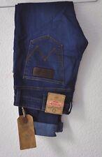 Wrangler Bryson Skinny Jeans - W32 L34 Blau neu Preis £75