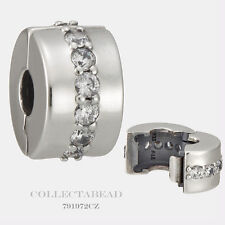 Authentic Pandora Silver Shining Path Clear CZ Clip 791972CZ