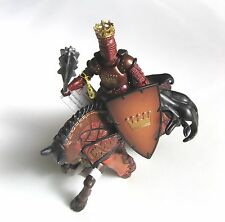 Papo Re D'ARMA Masters Knight 39919 montate a cavallo 39920-Nuovo con etichette!