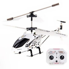 3.5CH RC Remote Control RTF Aircraft Built in Mini Helicopter White Toy