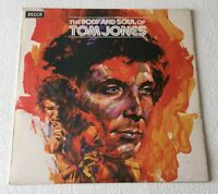 TOM JONES ~ THE BODY AND SOUL OF TOM JONES ~ 1973 UK 10-TRACK VINYL LP RECORD