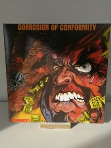 ANIMOSITY Corrosion Of Conformity LP Record 2009 Ltd Grey Vinyl NM
