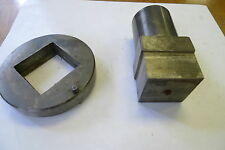 Turret Punch and Die Square 1.625""