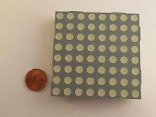 """58,34mm (2,3"""") 8x8 Dot Matrix Display Kingbright TC23-11GWA, grün, gem. Kathode"""