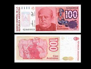 ARGENTINA 100 PESOS P 327b 1985 UNC