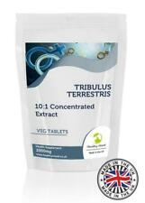 Tribulus Terrestris 2000mg 10:1 Extract Veg BULK 1000 Tablets Pills