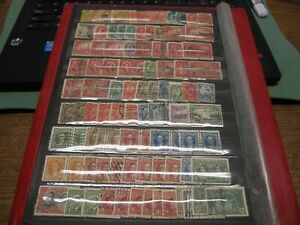 Canada Unitrade # CANADA  GROUP OF OLDER 90 USED STAMPS W/FAULTS