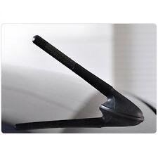 "3"" Universal Black Real Carbon Fiber Aluminum Short Screw-On Mast Car Antenna"