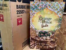 MINT Orange Pekoe Barbie -Victorian Tea Porcelain -  3939/4000 - #25507- Shipper