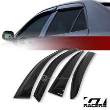 FOR 2008-2012 HONDA ACCORD SEDAN SUN/RAIN GUARD SHADE DEFLECTOR WINDOW VISORS 4P