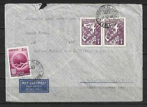 Angola, Portugal - 1950 Airmail Cover t/ Germany, Zone - VF !!!!!  (A3914)
