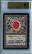 Mox Ruby (Beta) - BGS GEM MINT 9.5 (w/10 sub) MTG *CCGHouse* Magic