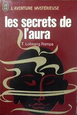Les secrets de l'aura de Lobsang Rampa  excellent état. 1965