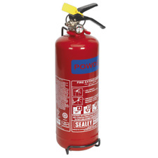 SDPE02 Sealey 2kg Dry Powder Fire Extinguisher [Fire Protection]