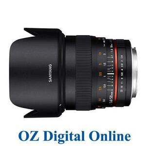New Samyang 50 mm f/1.4 AS UMC F1.4 for Nikon 1 Yr Au Wty