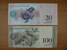 Lot de 2 billets Venezuela