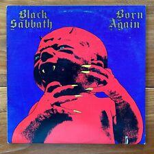 Black Sabbath – Born Again – Heavy Metal-Hard Rock Vinyl Lp – Ian Gillan