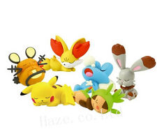 6pcs/Set Pocket Monster Pokemon Nendoroid PVC Figure Figurine
