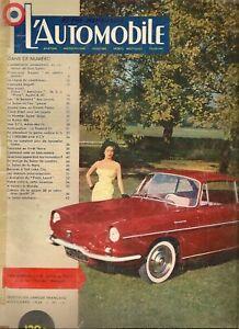 L'AUTOMOBILE 151 1958 ASTON MARTIN DB4 VOLVO 122 S AMAZON NSU PRINZ TOUR AUTO