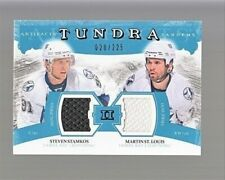 11-12 Artifacts Tundra Tandems Jerseys Steven Stamkos/Martin St. Louis 20/225