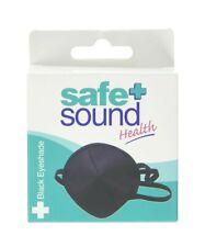 Black Fabric Medical Eyepatch Washable Flexible Eye Patch Protection Eyeshade UK