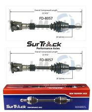 Ford Aerostar AWD/4WD 1990-1991 Pair of Front CV Axle Shafts SurTrack Set