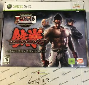 TEKKEN 6 LIMITED EDITION XBOX 360 Collector's Edition Brand New Sealed