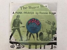 "SEX PISTOLS The Biggest Blow My Way 12"" 45 Australian Press Clear Vinyl 1978 EX"