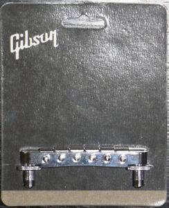 Genuine Gibson Nashville Tune-O-Matic Nickel bridge.PBBR-045 Les Paul Custom,SG
