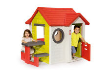 Smoby Mein Haus mit Picknicktisch Spielhaus 154x135x120 cm Gartenhaus my House