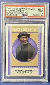 2019 UD Goodwin MICHAEL JORDAN Goudey Lenticular #GL3 PSA 9 Mint (Xplor_Sports)