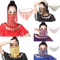 Belly Dance Face Veil India Dance Outfit Halloween Carnival Costumes Costume