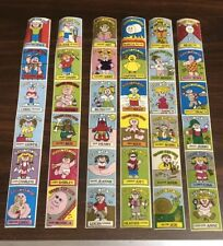 Trash Can Tots Vending Stickers -garbage pail kids  Complete Set Series 2