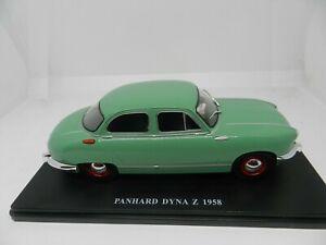 Salvat coches inolvidables 1/24 Panhard Dyna Z 1958  Ixo cochesaescala