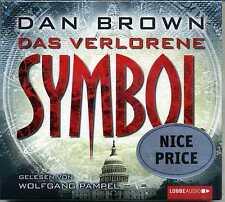 Das verlorene Symbol Dan Brown 6 CDs 9783785749036 Wolfgang Pampel KI2106