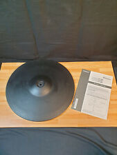 More details for roland cy-15r cy15r electronic 3 zone ride cymbal trigger pad + boom arm
