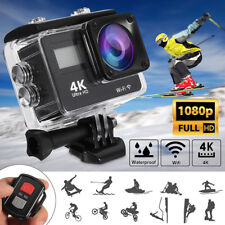 4K 1080P HD 2'' Dual Screen Sport Action Camera DV WiFi Waterproof As Go Pro e1