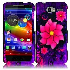 For Motorola Electrify M XT901 Protector HARD Case Phone Cover Divine Flower