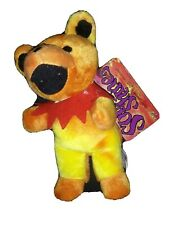 "Grateful Dead Bean Bear Series 2 Sunshine Plush Stuffed Animal Toy 7"" New!"
