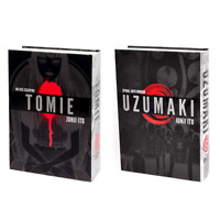 Uzumaki (Deluxe) & Tomie: Complete Deluxe Edition by Junji Ito - Hardcover Manga