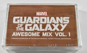Guardians Of The Galaxy Awesome Mix Vol 1 Tape Cassette New 2017 (sealed)