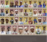 2020 LJACards Negro League Tobacco Trading Cards ACEO