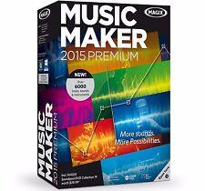 MAGIX Music Maker 2015 Premium - Audio Editing Software for Windows ✔NEW✔