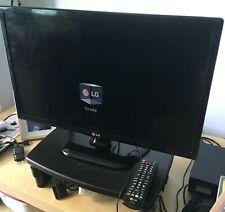televisión LG 20,5 pulgadas perfecto estado