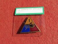 US Army 1st Armored Division Distinctive Unit Insignia DUI DI Crest pin back