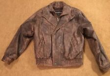 Wilsons Leather Bomber Jacket Small Thinsulate With Liner