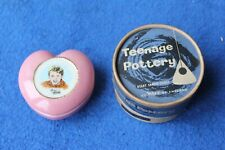 WADE Teenage Pottery - FRANKIE VAUGHAN - 1960's - Heart Shaped Casket - with Box