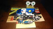 Vintage Lego Space All Terrain Vehicle And Mobile Space Station Complete.